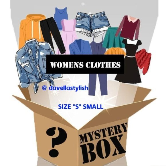 """Mystery Box Clothing Accessorises Gift Size """"S"""""""